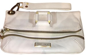 Jimmy Choo Wristlet in Off White