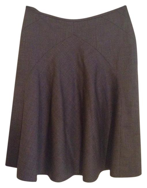 Item - Silver Grey Wool and Silk Skirt Size 6 (S, 28)