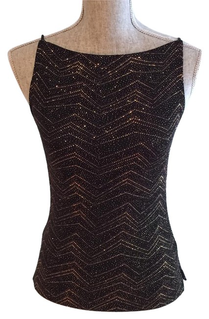 Preload https://img-static.tradesy.com/item/17816116/black-copper-with-glittery-zigzag-design-dressy-small-night-out-top-size-6-s-0-2-650-650.jpg