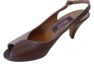 Bally two-tone brown and beige Sandals