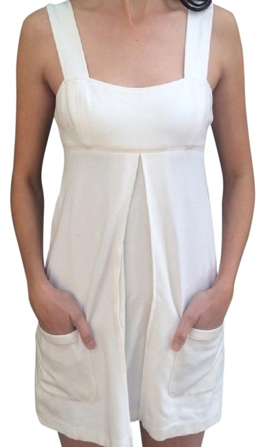 Diane von Furstenberg short dress Cream/Ivory Dvf Babydoll Designer on Tradesy