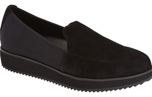Eileen Fisher Lightweight Breathable Sides Black Platforms