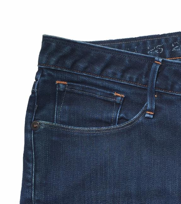 Earnest Sewn Straight Leg Jeans-Dark Rinse