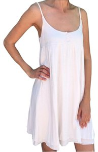 Joie short dress White Babydoll Designer on Tradesy