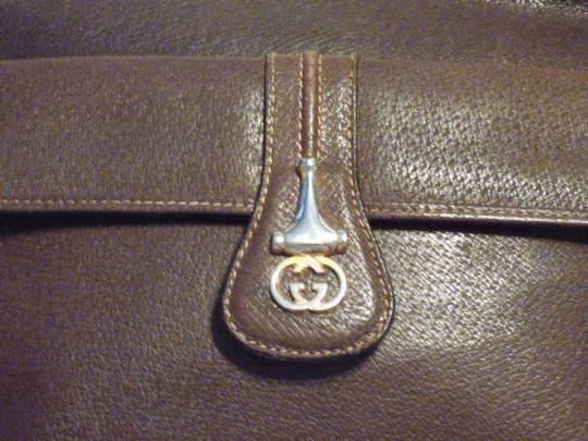 Gucci Exterior Pockets High-end Bohemian Equestrian Accents Shoulder/Cross Great Everyday Cross Body Bag
