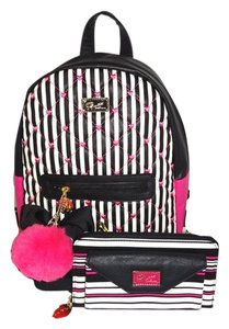 Betsey Johnson Front Zip Pocket Backpack