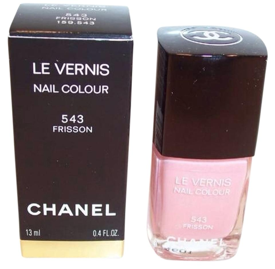 Chanel Pink New 543 Frisson Roses Ultime Nail Polish Le Vernis ...