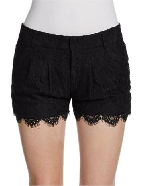 Preload https://img-static.tradesy.com/item/17817796/haute-hippie-black-women-s-scalloped-lace-hhsp13-4230-dress-shorts-size-4-s-27-0-1-650-650.jpg