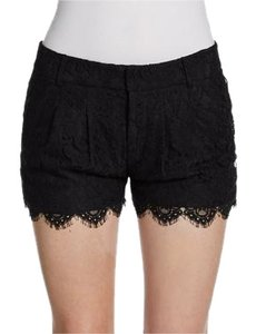 Haute Hippie Lace Dress Shorts Black