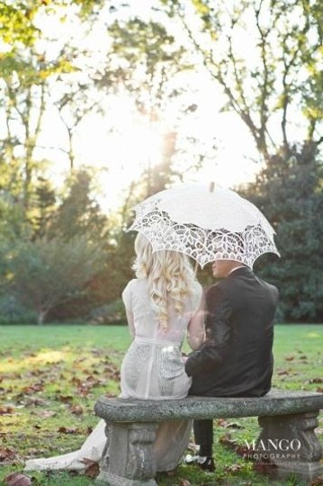 Lot Of 10 Vintage Style Lace Wedding Parasol 61% Off