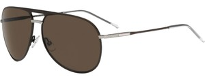 Dior NEW Dior Homme 0177/S Brown Silver Aviator Sunglasses