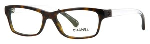 Chanel CHANEL 'Crystal Dream' Collection Eyeglasses CH3274 (Dark Havana)