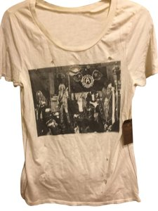 Urban Outfitters T Shirt White Grey