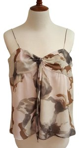 Theory Camisole Silk Floral Top pastel