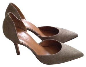Vince Taupe or Woodsmoke Suede Pumps
