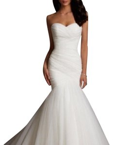 53f8fdfe2a2 Mori Lee Ivory Never Worn 5108 Feminine Wedding Dress Size 10 (M)