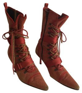 Diesel Red distress Boots