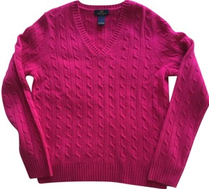 Brooks Brothers Cashmere 100% Cashmere Pink Cashmere Pink Sweater