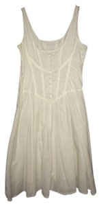 By Deep Los Angeles short dress white on Tradesy
