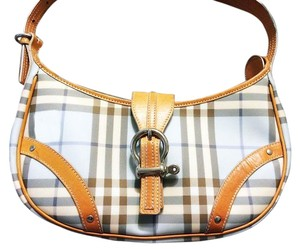 Burberry Spring Colors Clutch Leather Like New Shoulder Bag