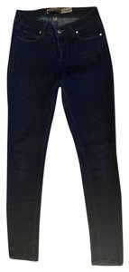 Paige Legging Jegging Night Out Date Night Skinny Jeans-Dark Rinse
