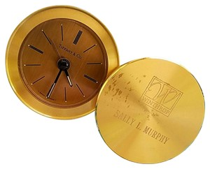 Tiffany & Co. FINAL SALE!! Tiffany&co Brass Desk Clock