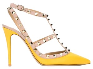 Valentino Brand New In Box YELLOW Pumps