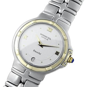Raymond Weil Raymond Weil Parsifal Mens Two-Tone Watch, Ref. 9188 - Stainless Steel & Solid 18K Gold