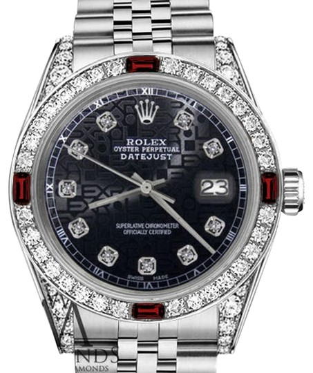 Preload https://img-static.tradesy.com/item/17822074/rolex-ladies-26mm-datejust-jubilee-black-color-dial-ruby-and-diamond-watch-0-1-540-540.jpg