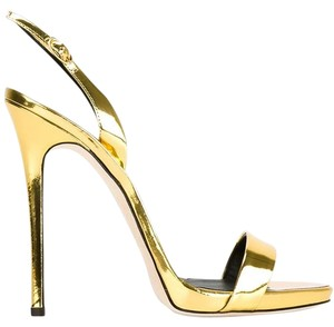 Giuseppe Zanotti Brand New In Box METALLIC GOLD Sandals