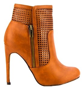 Mark and Maddux Cognac Boots