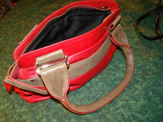 See by Chloé Satchel in red on red Image 3