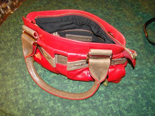 See by Chloé Satchel in red on red Image 4