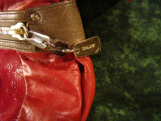 See by Chloé Satchel in red on red Image 5