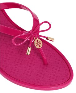 Tory Burch Thong Jelly Pink Sandals