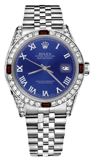 Preload https://img-static.tradesy.com/item/17823610/rolex-36mm-datejust-blue-color-roman-numeral-dial-ruby-diamonds-watch-0-3-540-540.jpg