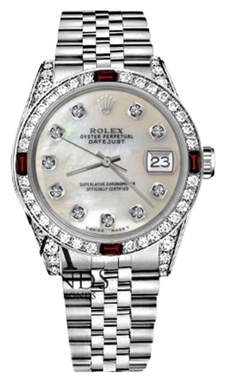 Preload https://img-static.tradesy.com/item/17823763/rolex-36mm-datejust-white-mop-dial-ruby-and-diamond-bezel-watch-0-3-540-540.jpg