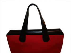 T. Anthony Ltd. Tote in red & black