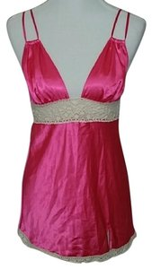 Victoria's Secret Babydoll Baby Doll Nighty Top Pink