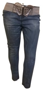 Apple Bottoms Straight Leg Jeans-Dark Rinse