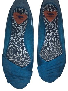 Rocket Dog Teal Flats
