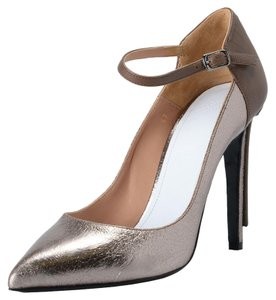 Maison Margiela Brown / Silver Pumps