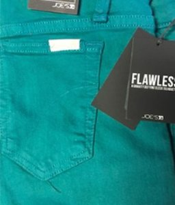 JOE'S Jeans Jean Soft Skinny Pants green Teal