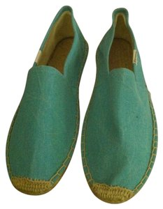 Soludos Espadrille Canvas Blue Flats