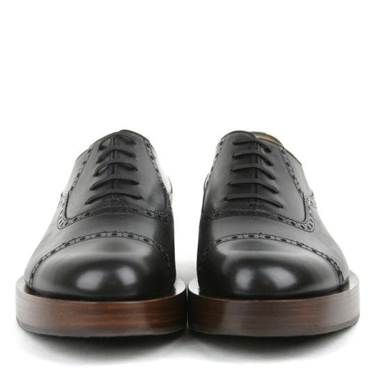 Gucci Black1000 Mens Platform Lace-up Oxford 353028 10.5/Us 11.5 Shoes