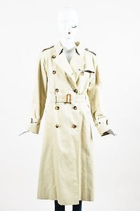 Burberry London Double Trench Coat