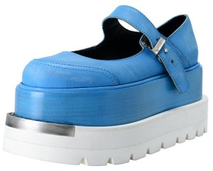 Maison Margiela Blue Platforms