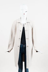 Max Mara Buttoned Wool Trench Coat