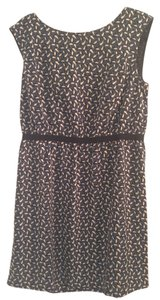 Ann Taylor LOFT short dress forest green, brown and black Green Packable on Tradesy