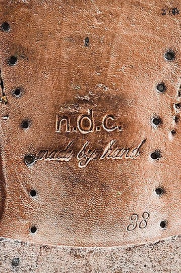 Other Ndc Suede Slouchy Ankle Brown Boots
